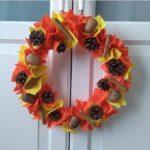 Wreath craft for preschool