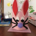 Cute bunny craft for kids