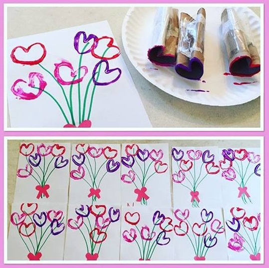 Photo of Valentine's day craft for preschoolers
