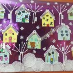 Q-tip winter craft ideas