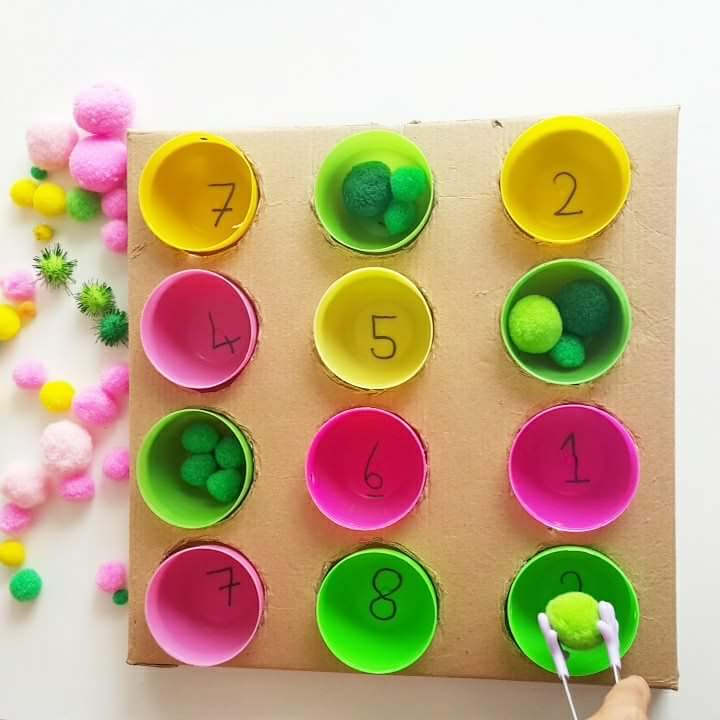 Photo of Homemade memory game for kids